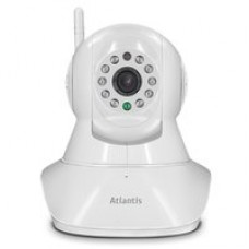 VIDEOCAMERA ATLANTIS A14-PC7000-MT1 MOTOR 7000 1280x720 a 25fps in H.264 Wifi 10 IR led (8mt) App per Android ed Apple