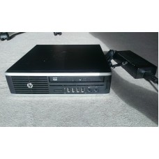hp pc elite 8000 usdt processore:intel, core 2 duo, 3,16 ghz, 64 bit; ram:4 gb 250gb hdd