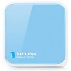 ROUTER TP-LINK TL-WR702N 150M MINI POCKET AP 802.11 n/g/b 1T1R, 1P MICRO USB, Adattatore Smart TV / Decoder, A ANTENNA INTERNA