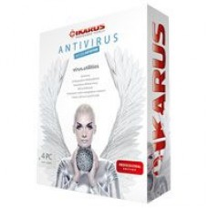IKARUS VIRUS.UTILITIES PROFESSIONAL EDITION: Antivirus, anti malware, etc…+ MODULO ANTISPAM 4 PC 1 anno ITA